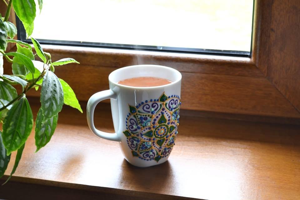 La o cafea cuRoxana